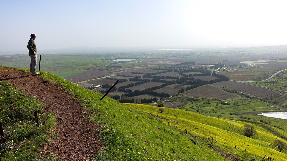 Golan - a wonderland even in Summer