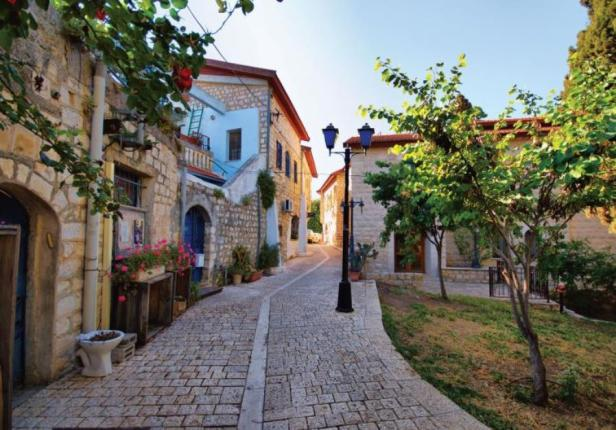 The streets of Safed. Credit: Safed Municipility