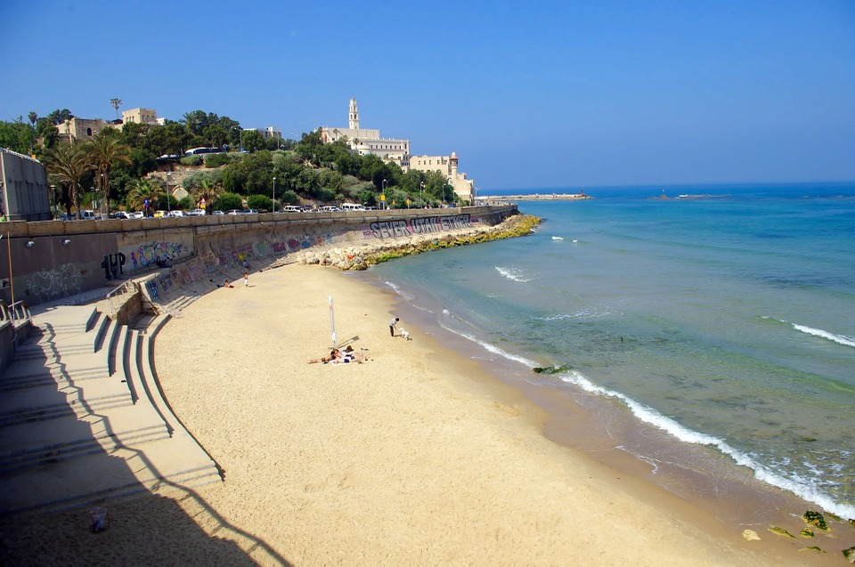 One of the beaches near Old Jaffa- Tel Aviv