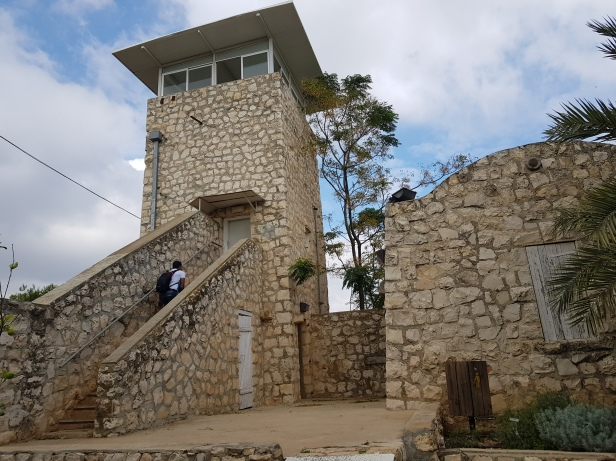 The tower at Birya Fortress