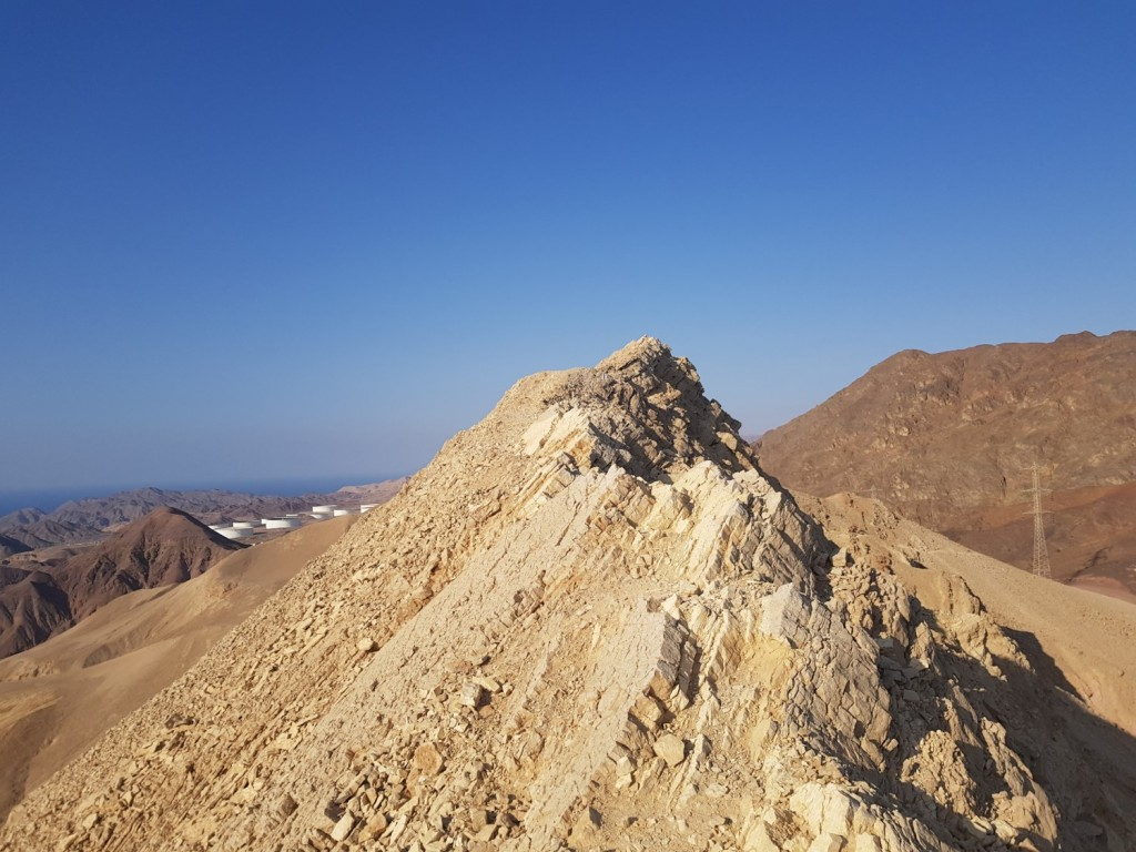 The Yotam knife in the Eilat Mountains