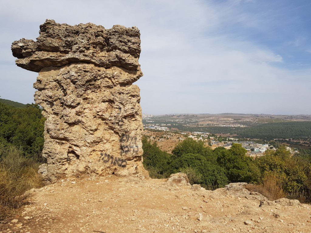 Elijah's Chair on Mount Meron