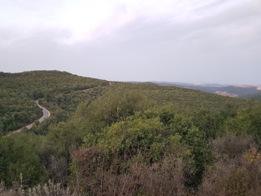 Climbing Mount Meron on the Israel National Trail