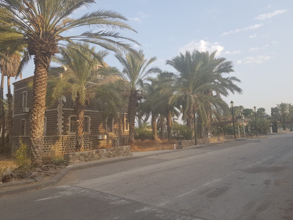 The Founders Street in the moshava Kinneret
